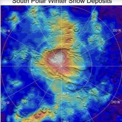 Interesting CO2 Snow Fall on MARS [Slideshow]