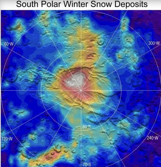 Interesting CO2 Snow Fall on MARS